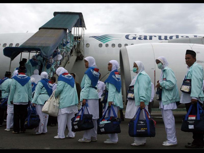 Tips Naik Pesawat Saat Berangkat Ibadah Haji