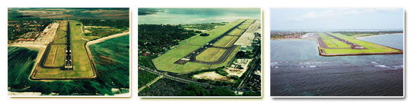 Runway Ngurah Rai Airport Bali