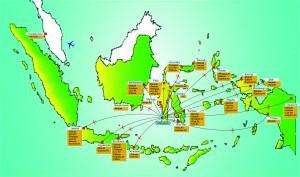 Denah Rute Penerbangan Bandara Hasanuddin