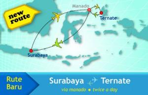 Rute Baru Sriwijaya Air