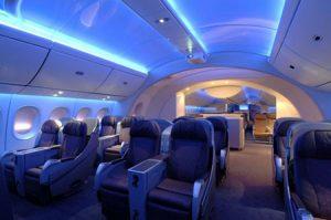 Boeing 787 Dreamliner Inside