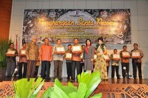 Penghargaan Sapta Pesona Bandara Juanda Toilet Terbersih