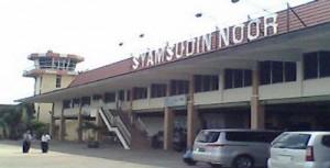 Bandara Syamsudin Noor Berasap, airline delay