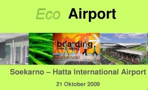 Bandara Internasional Wajib Terapkan Eco-Airport