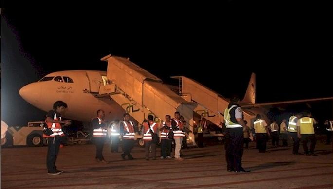 Keberangkatan Haji Kloter Pertama Embarkasi Bandara Syamsudin Noor
