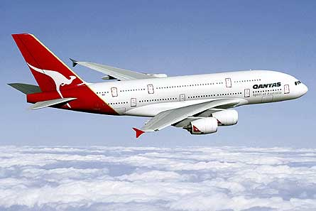 Pesawat Airbus Qantas