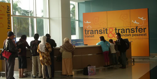 prosedur Penumpang Transit dan Transfer