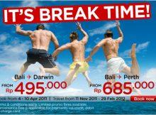 Tiket Promo Air Asia Bali Darwin