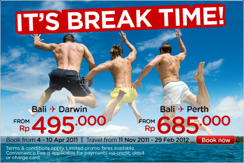 Paket Tiket Promo Air Asia It's Break Time