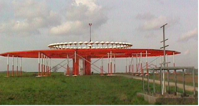 VOR Peralatan Navigasi Bandara Sam Ratulangi