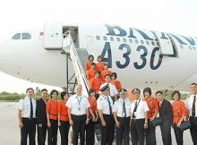 Batavia Air Pecah Ban di Bandara Hang Nadim Batam