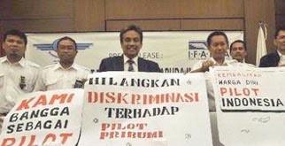 Pilot Garuda Indonesia Mogok Kerja