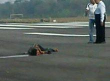 Warga Tertabrak Pesawat di Bandara Hasanuddin