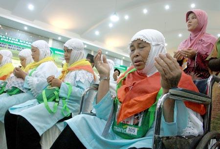 Jamaah Haji Embarkasi Banjarmasin