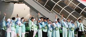 Jamaah Haji Embarkasi Makasar