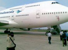 Pesawat Haji Garuda Devert ke Oman