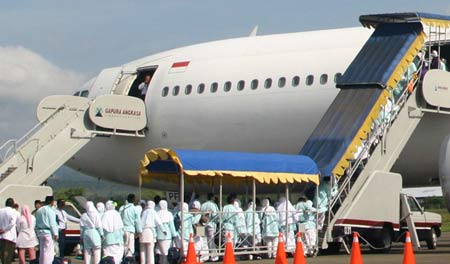 Keberangkatan Jamaah Haji Embarkasi Banda Aceh