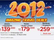 Air Asia 2012 Amazing Travel Deals