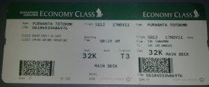 Tiket Pesawat Singapore Airline Jakarta Los Angeles