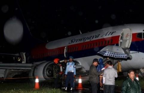 Sriwijaya Air tergelincir di Bandara Adisutjipto