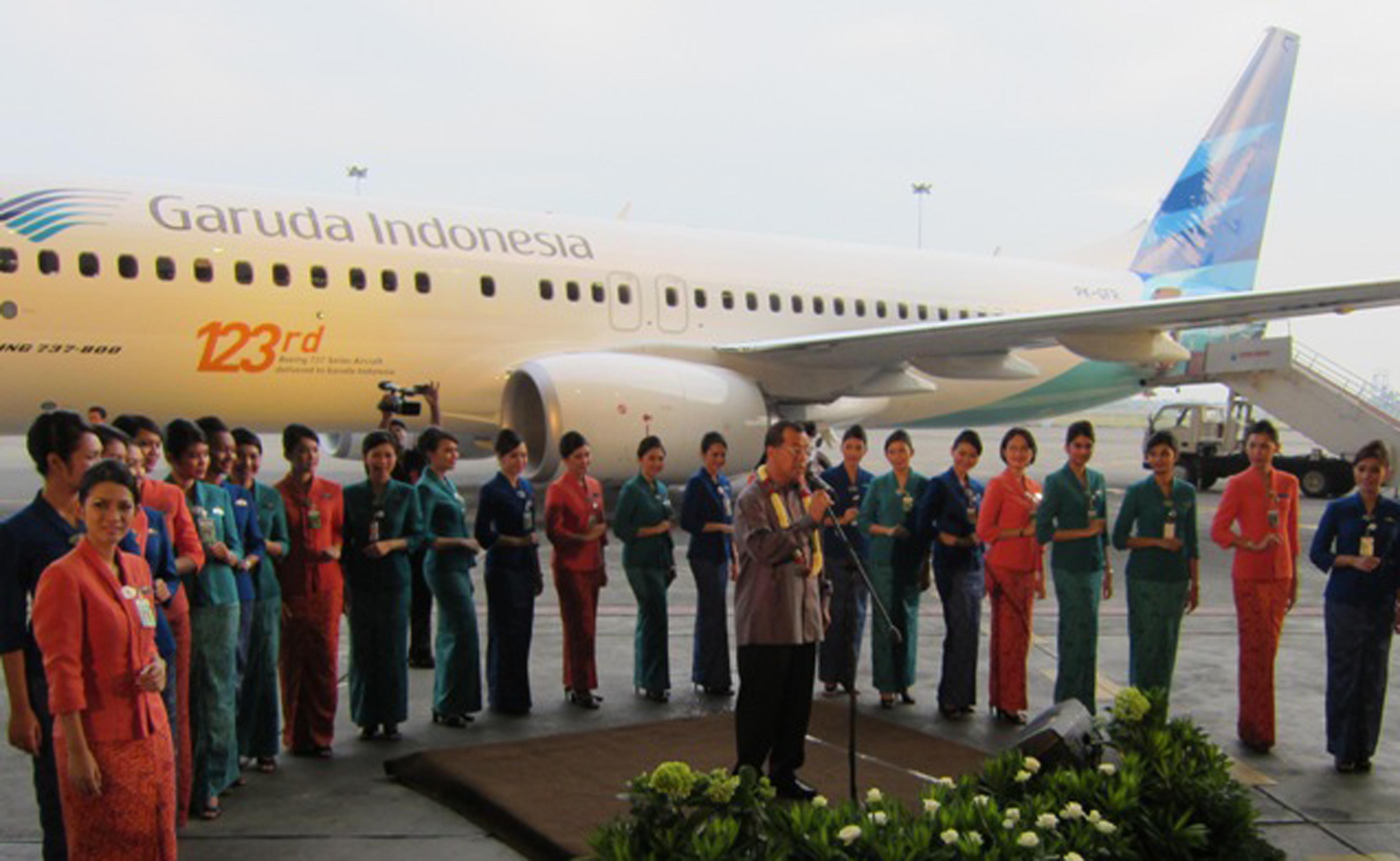 Garuda Tambah Rute Penerbangan Internasional