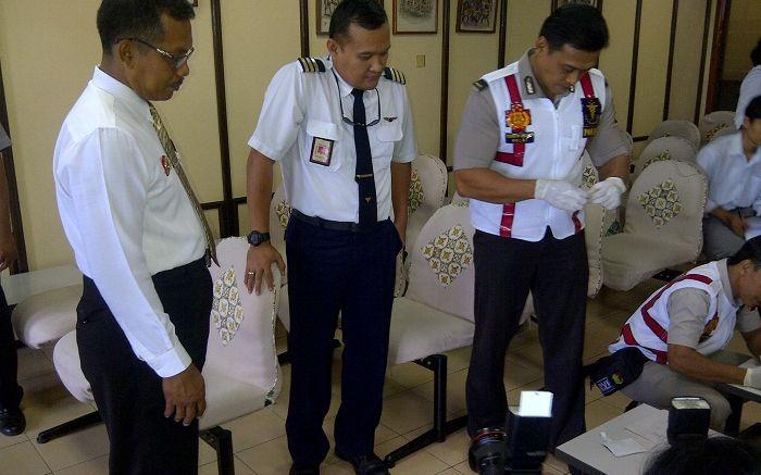 Pilot Pesawat di Bandara Adisutjipto Jalani Tes Narkoba