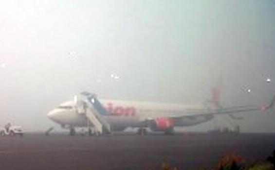 Kota Jambi Berasap, Bandara Sultan Thaha Syaifuddin Tutup