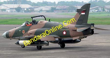 Pesawat Tempur Hawk-200 TNI AU jatuh di Riau