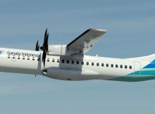 Garuda Indonesia Dengan ATR 72-600 Buka Rute Hingga Merauke