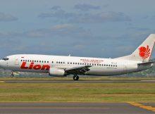 Pesawat Lion Hard Landing