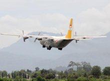 Bandara Adisutjipto Beroperasi Dengan Hercules Terbang Perdana