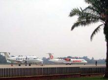 Penerbangan di Bandara Sultan Syarif Kasim (SSK) II Pekanbaru Normal Kembali
