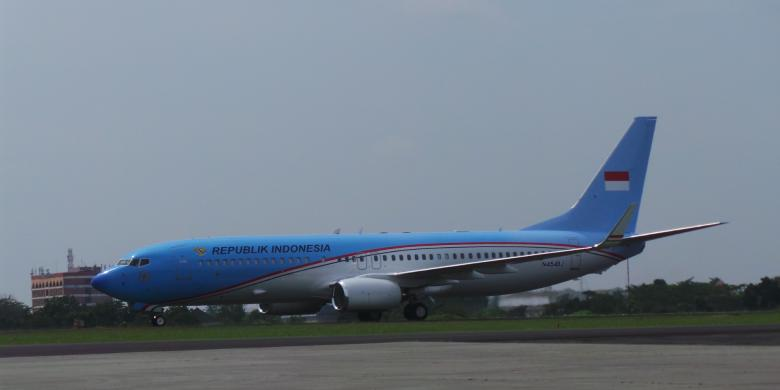 Pesawat Kepresidenan Indonesia, Boeing Business Jet 2