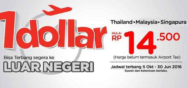 Tiket Pomo air Asia