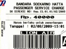 Airport Tax Bandara Soekarno Hatta Naik