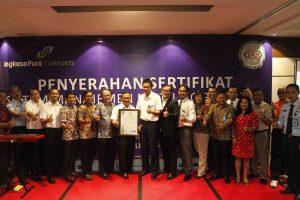 Bandara I Gusti Ngurah Rai Raih Sertifikat ISO 9001:2008