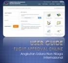 Ijin Terbang Secara Online